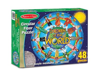 Children Around the World Floor Puzzle, 48 pieces  -