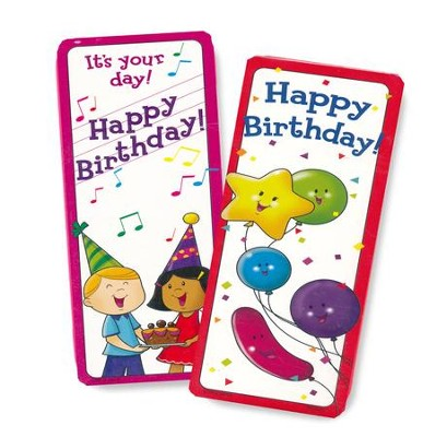 Happy Birthday Bookmarks (30 bookmarks)         -