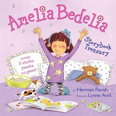 Amelia Bedelia Storybook Treasury  -     By: Herman Parish     Illustrated By: Lynne Avril