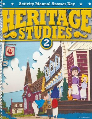 Heritage Studies Grade 2 Student Activities Key (3rd Edition)  -