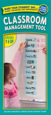 Easy Daysies Magnetic Schedules for Kids: Classroom  Management Tool Grades 1 & Up  -
