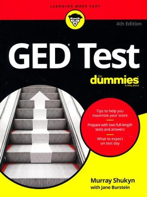 GED Test For Dummies  -     By: Achim K. Krull, Dale E. Shuttleworth, Murray Shukyn
