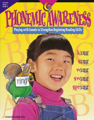 Phonemic Awareness: Playing with Sounds to Strengthen Beginning Reading Skills Grades PreK-2  -     By: Jo Fitzpatrick