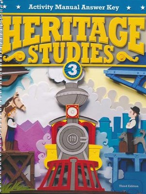 Heritage Studies Grade 3 Student Activities Key (3rd Edition)  -