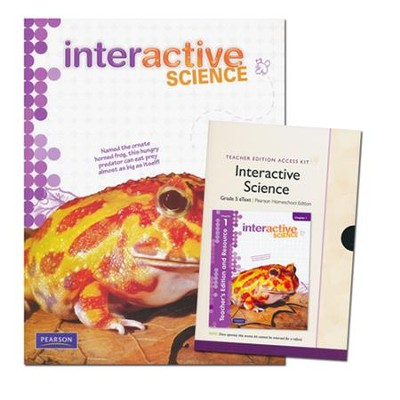Interactive Science Grade 5 Homeschool Bundle   -