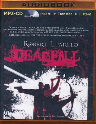 Deadfall - unabridged audio book on MP3-CD  -     Narrated By: Phil Gigante     By: Robert Liparulo