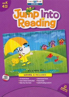 Jump Into Reading Boxed Set, Grade K (Levels B-C)   -