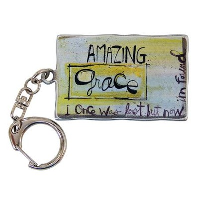 Amazing Grace, Keyring  -     By: Lynn Sanchelli