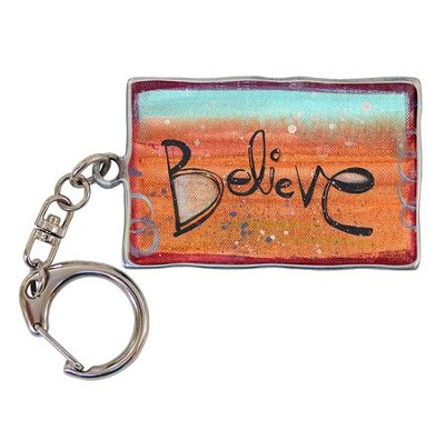 Believe, Keyring  -     By: Lynn Sanchelli