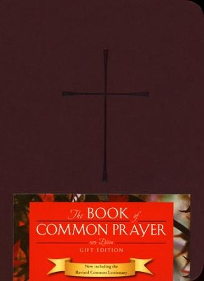 1979 Book of Common Prayer Personal Gift Edition wine Imitation Leather  -