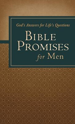 Bible Promises for Men: God's Answers for Life's Questions - eBook  -