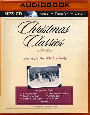 Christmas Classics: Stories for the Whole Family - Unabridged audio book on MP3-CD  -