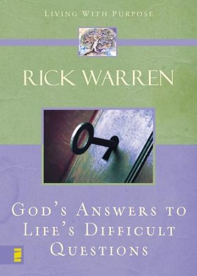 God's Answers to Life's Difficult Questions - eBook  -     By: Rick Warren