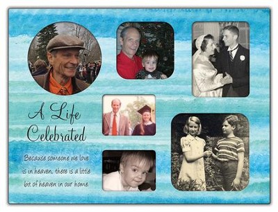 A Life Celebrated Collage Photo Frame  -