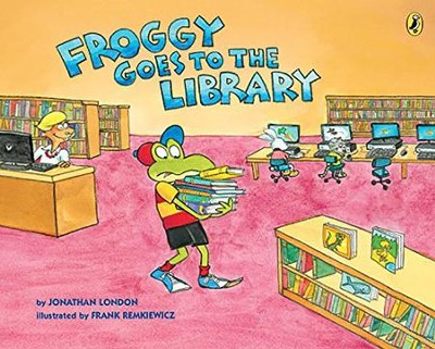 Froggy Goes to the Library  -     By: Jonathan London