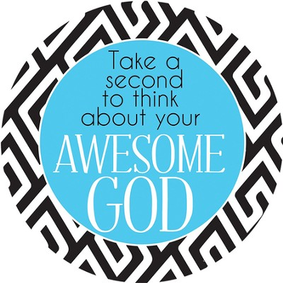 Awesome God Magnet  -