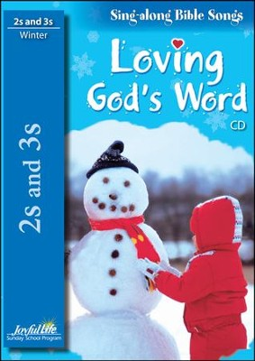 Loving God's Word (ages 2 & 3) Audio CD   -
