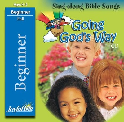 Going God's Way Beginner (ages 4 & 5) Audio CD   -