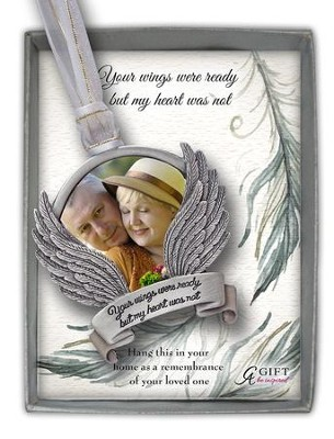 Your Wings Were Ready Photo Ornament  -