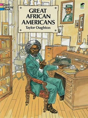 Great African Americans Coloring Book  -     By: Taylor Oughton