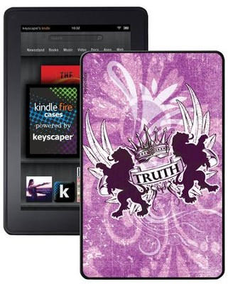 Truth Lion, John 14:6 Kindle Fire Case, Pink  -