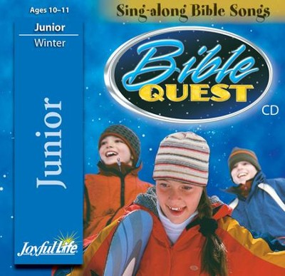 Bible Quest Junior (Grades 5-6) Audio CD   -