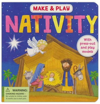 Make & Play Nativity: Press-out and Play Nativity Scene  -     By: Samantha Hilton