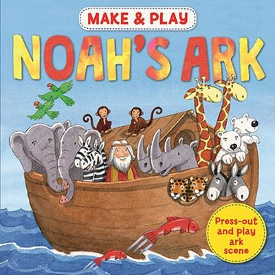 Make & Play Noah's Ark: Press-out and Play Ark Scene  -     By: Samantha Hilton