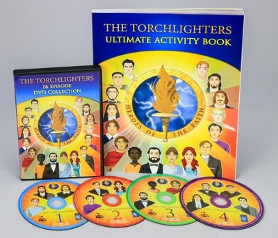 The Torchlighters DVD Collection + Activity Book   -