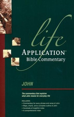 John: Life Application Bible Commentary   -     By: Grant R. Osborne