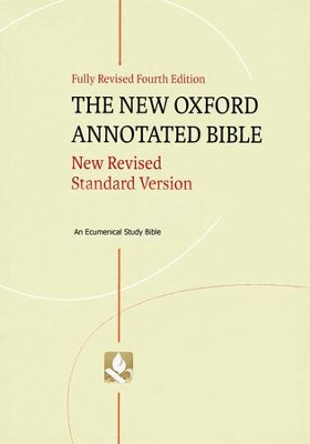 NRSV New Oxford Annotated Bible, 4th Ed. Hardcover   -