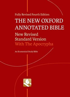 NRSV New Oxford Annotated Bible with the Apocrypha, Fourth Edition  -