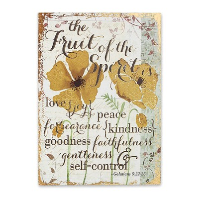 The Fruit Of the Spirit Wall Art  -     By: Christine Adolph