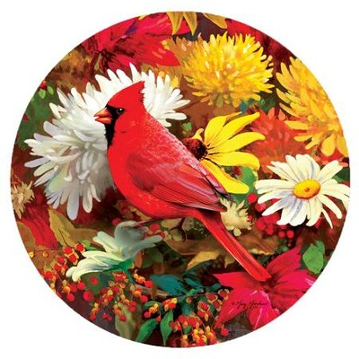 Autumn Songbirds Magnet  -