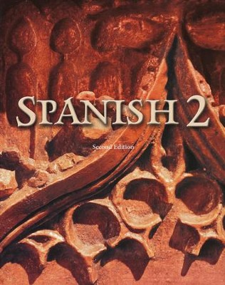 BJU Spanish 2, Student Text (Second Edition, Updated  Copyright)  -