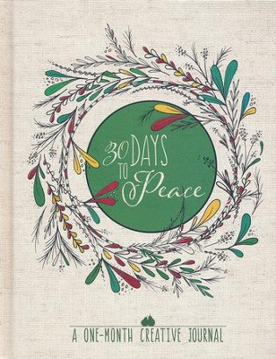30 Days to Peace: A One-Month Creative Devotional Journal  -     By: WaterBrook