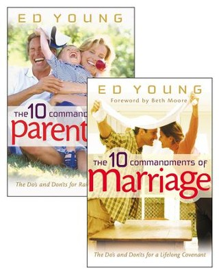 The 10 Commandments of Marriage/The 10 Commandments of Parenting Set / New edition - eBook  -     By: Ed Young, Beth Moore