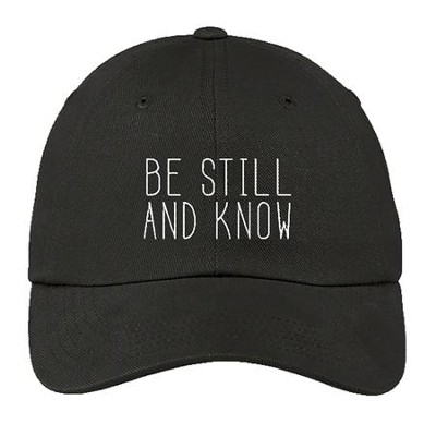 Be Still and Know Cap, Gray  -