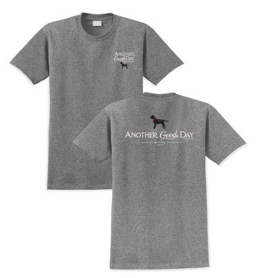Black Lab, Another Good Day Shirt, Graphite, Small  -