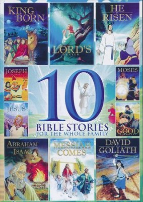 10 Bible Stories for the Whole Family, DVD   -