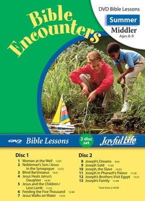 Bible Encounters Middler (Grades 3-4) Bible Lesson DVD   -