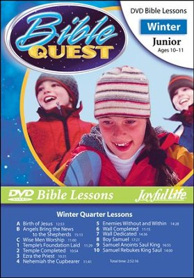 Bible Quest Junior (Grades 5-6) Bible Lesson DVD   -