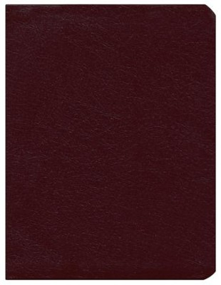 KJV Dake Annotated Reference Bible Bonded Leather Burgundy (larger notes)  -     By: Finis J. Dake