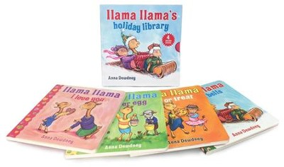 Llama Llama's Holiday Library  -     By: Anna Dewdney