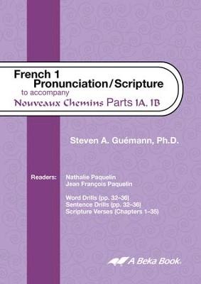 Abeka Nouveaux Chemins French Year 1 Pronunciation/Scripture Audio CD
