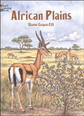 African Plains Coloring Book  -     By: Dianne Gaspas-Ettl
