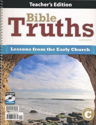 BJU Press Bible Truths Level C Teacher's Edition, 4th Edition   -