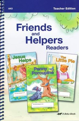 Friends and Helpers Readers Teacher Edition   -