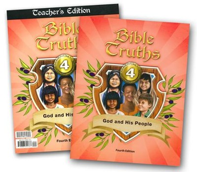 BJU Press Bible Truths Grade 4 Kit (4th Edition)  -