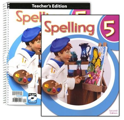 Spelling Grade 5 Homeschool Kit (2nd Edition)   -